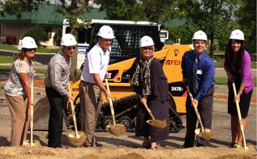 Simonson's Salon & Spa Groundbreaking