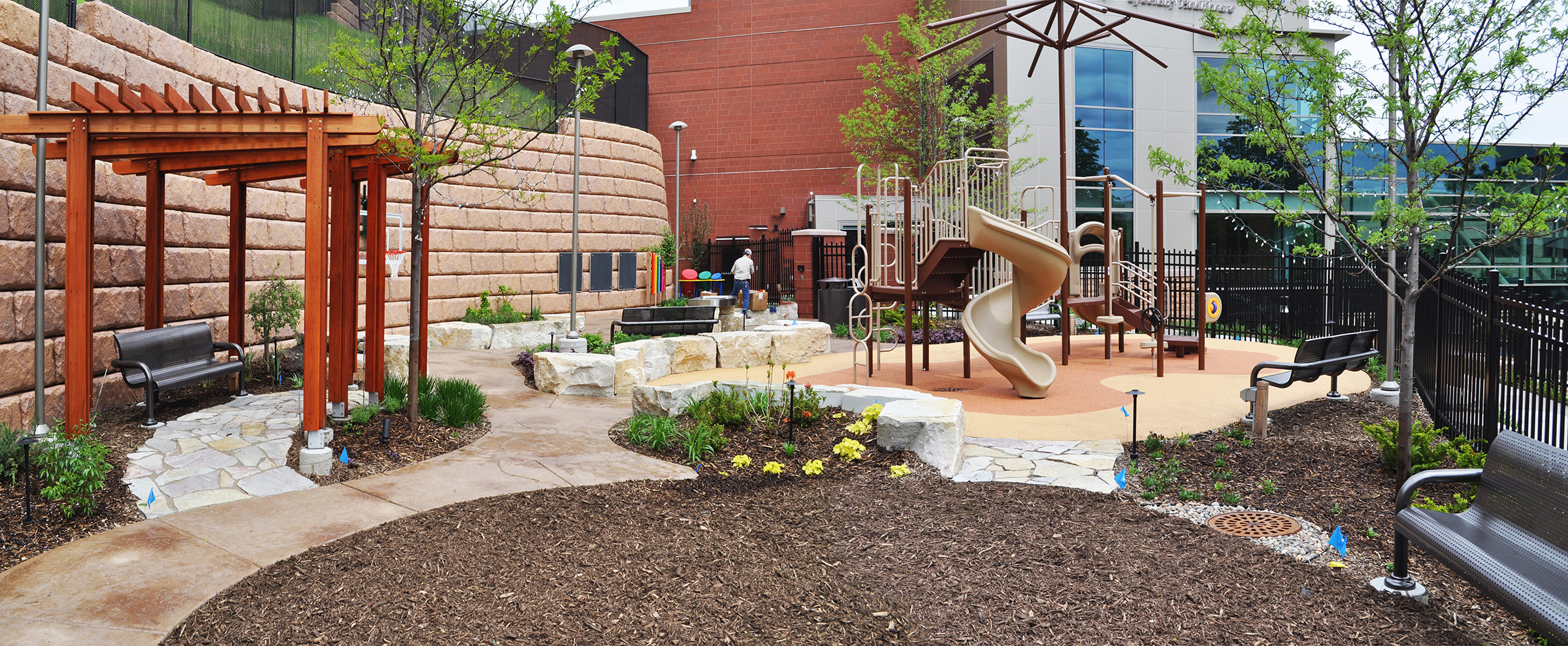 Gillette Children's Specialty Healthcare Therapy Garden