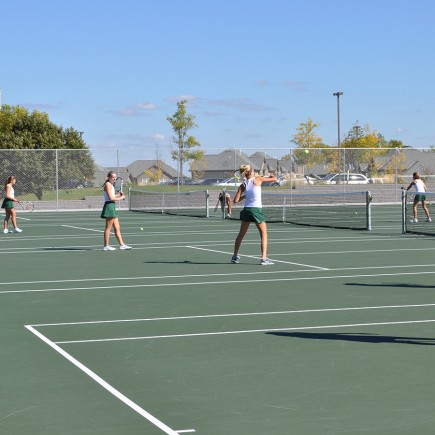 Hill Murray High School Tennis Courts