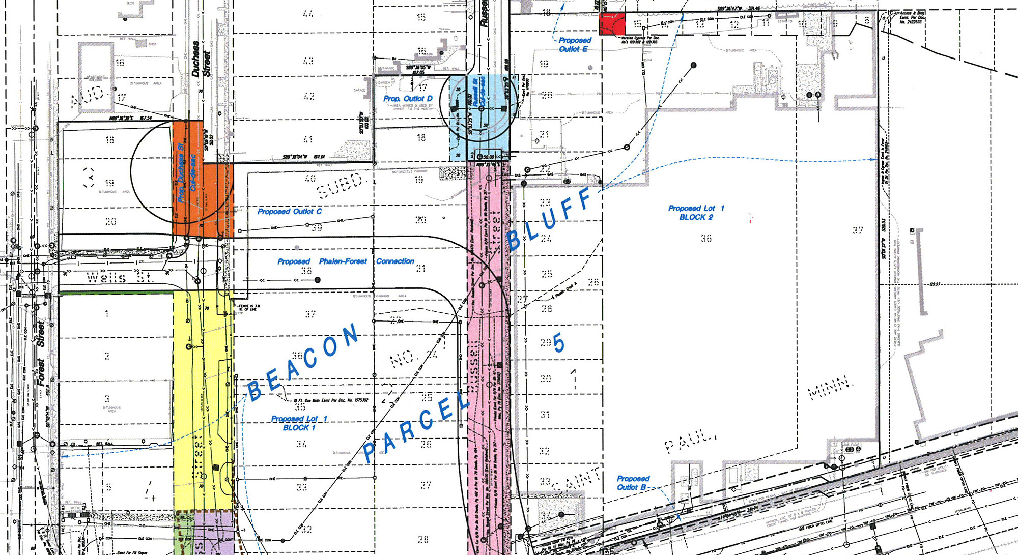 Beacon Bluff Plans