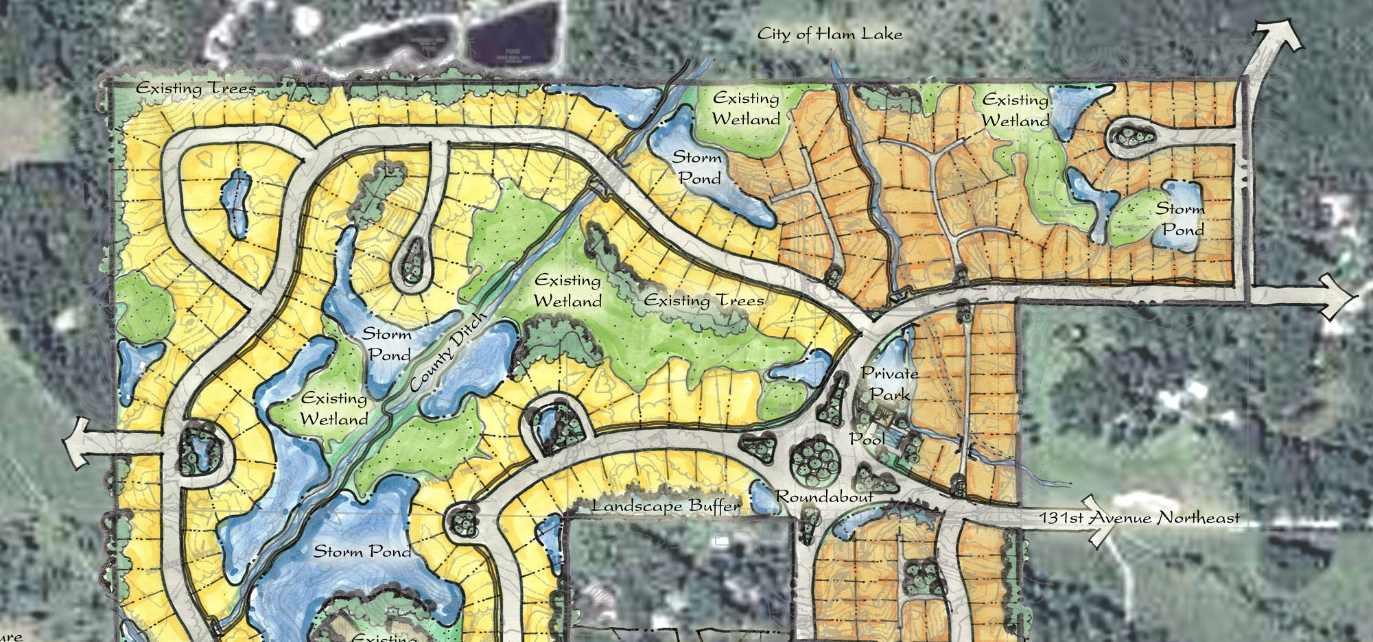 Master Planning Amp Site Development Minneapolis Land