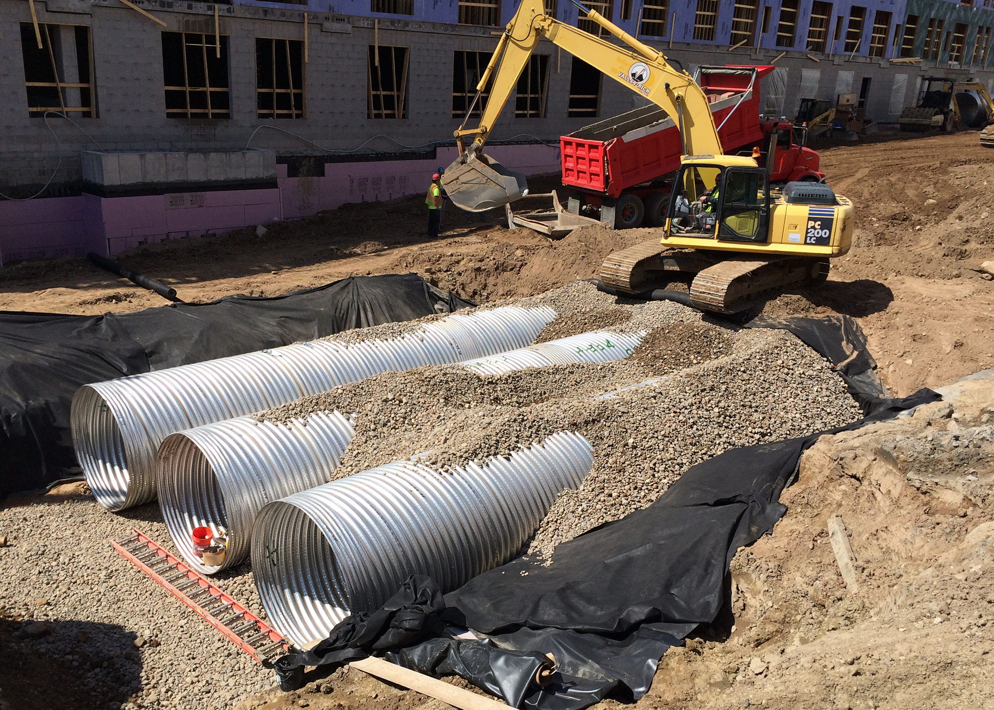 civil engineering mill storm water drain