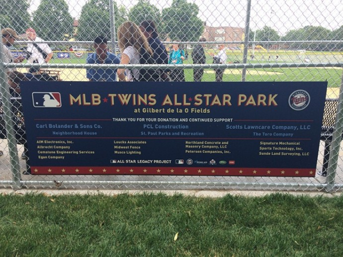 MLB Twins All Star Park