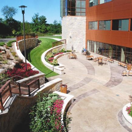 Maple Grove Hospital Plaza Developed by Civil Engineering Company Loucks