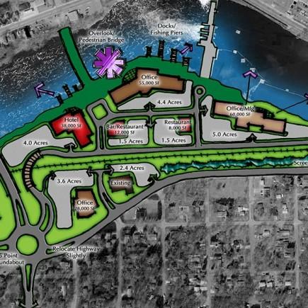 Redevelopment concept plan