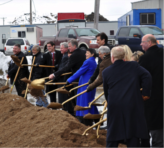 Schmidt Brewery Artist Lofts Ground Breaking Ceremony