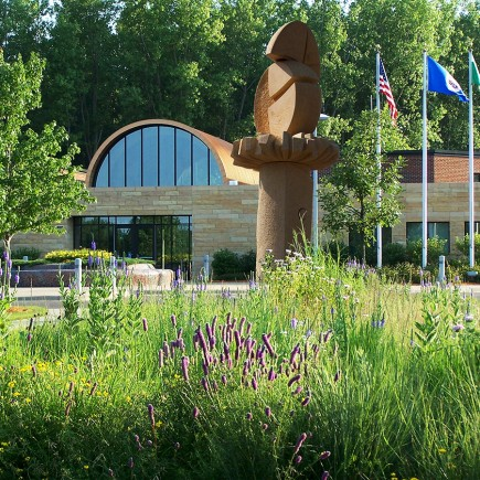 Vadnais Heights Sculpture Garden Community Space Development by Loucks