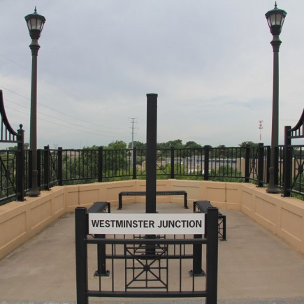 Westminster Junction at the West End of Phalen Boulevard