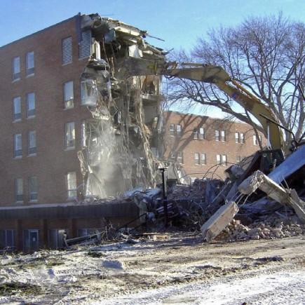 Amherst H. Wilder Foundation Demolition by Loucks in Minneapolis