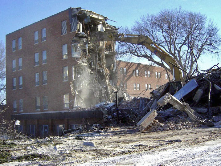 Amherst H. Wilder Foundation Demolition by Loucks in Minneapolis