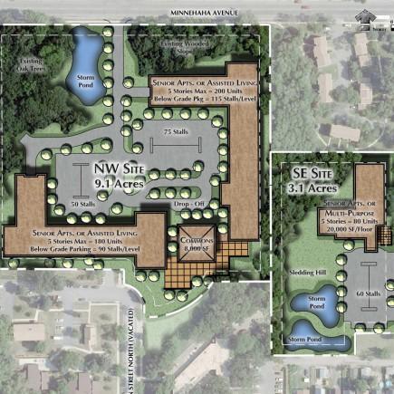 Wilder Senior Living Concept Design by Loucks in Minneapolis