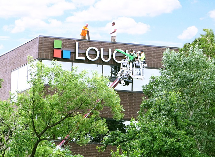 Loucks Maple Grove Office Sign Replacement